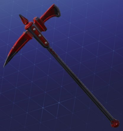 Pickaxe Skin CRIMSON AXE