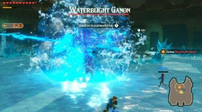 Waterblight Ganon Can Teleport