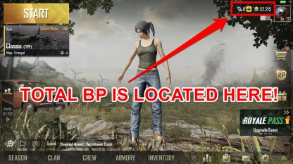 PUBG Mobile | How To Earn & Use BP (Battle Points)
