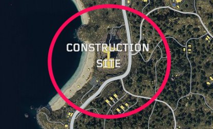 CoD: BO4 Best Spots To Land Construction Site
