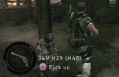 Pick Up S&W M29 In Majini Village