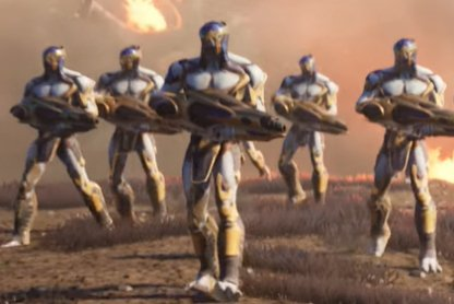 Chitauri Army Start Out With Special Loadout