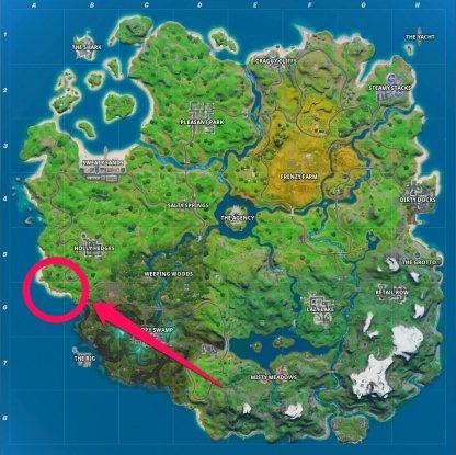 Rainbow Rentals Location Map
