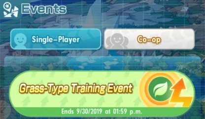 Grass-Type Training  Quest Walkthrough