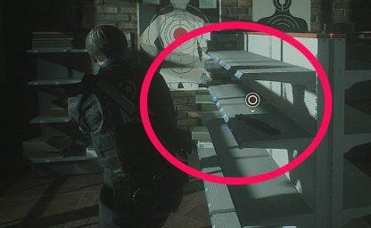 Resident Evil 2 Shotgun Part