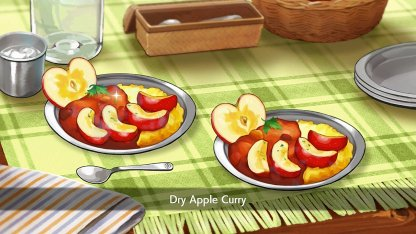 Dry Apple Curry