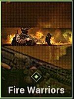 Fire Warriors Calling Card