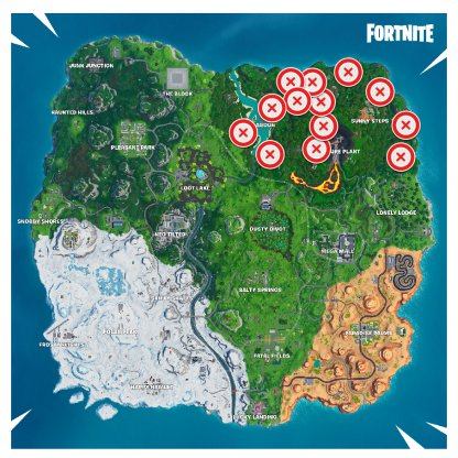 Volcano Vent Locations