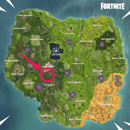 Fortnite Week 6 Challenge Timed Trial Location