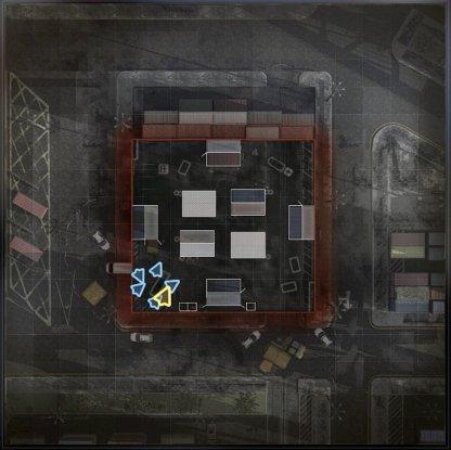 Shipment Map Layout
