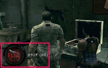 Silver Case Contains M92F Hand Gun