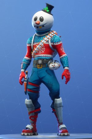 Skin Outfit SLUSHY SOLDIER