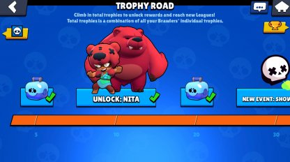 Brawl Stars Trophy Road Guide Reward List