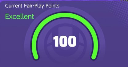 Players Start With 100 Fair Play Points