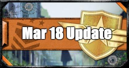 March 18 Update
