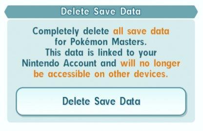 Delete Saved data