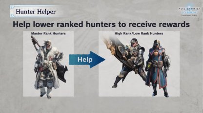 Incentive To Help Lower Ranked Hunters