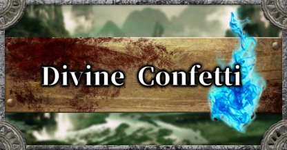Divine Confetti Locations Guide - Where To Get & How To Use