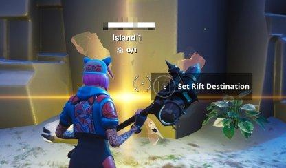 Access a Creative Island