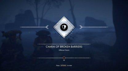 Receive Charm of Broken Barriers