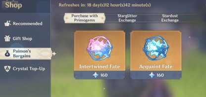 Purchase Intertwined & Acquaint Fates (Gacha)