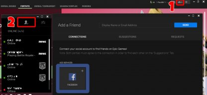 Linking your Facebook Accoun