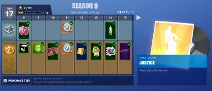 Earn from Leveling Up Battle Pass