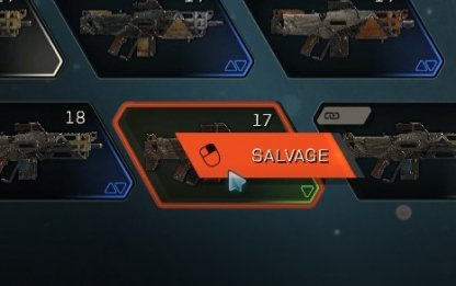 Salvage Items From The Forge