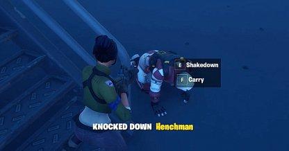 Knock Down Henchmen