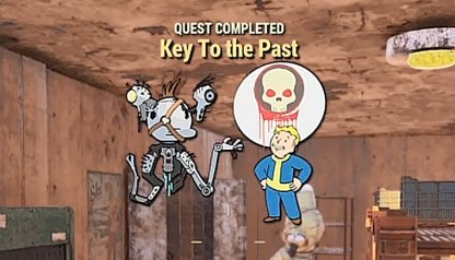Fallout 76, The Mission Link - Quest Walkthrough, Key To The Past
