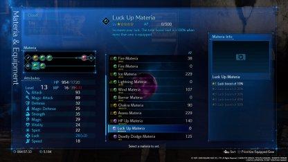 Luckup materia