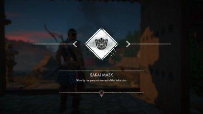 Receive Sakai Mask & Clan Armor