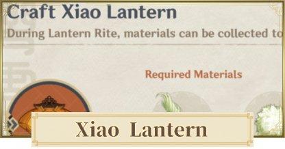 Farm Xiao Lantern