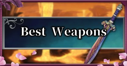 How to Get the Best Weapons