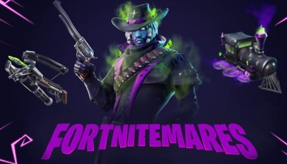 Fortnite - One-Time Cube Event - Fortnitemares