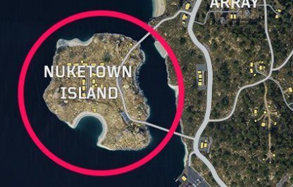 CoD: BO4 Best Spots To Land Nuketown Island