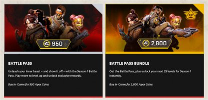 Season 1 Wild Frontier Launches With Battle Pass
