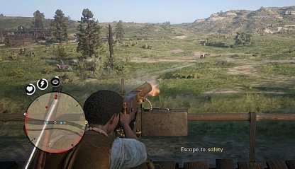 Use The Maxim Gun To Take Out Pursuers