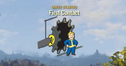 Fallout 76 Main Quest Mission First Contact
