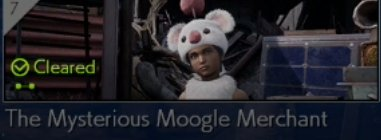 The Mysterious Moogle Merchant