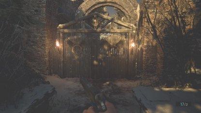Head Through This Door In Village