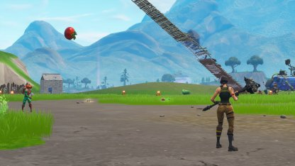 Tomato Challenge Completing On Spawn Island