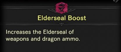 Use Skill: Elderseal Boost