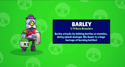 Also Unlocks Barley if Not Yet Part of Roster