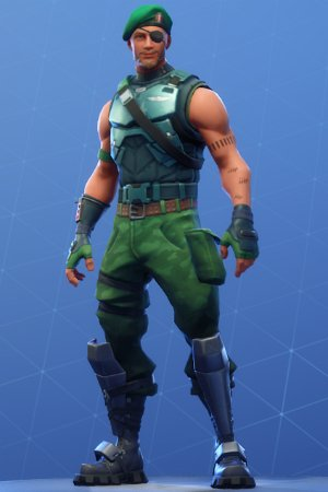 Fortnite Garrison Skin Review Image Shop Price