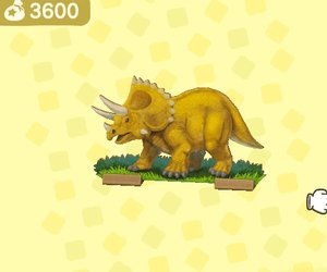 Throwback Dino Screen