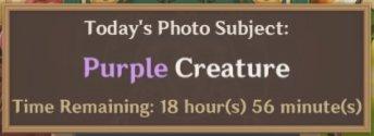 Purple Creatures