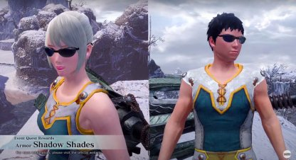 Shadow Shades Armor