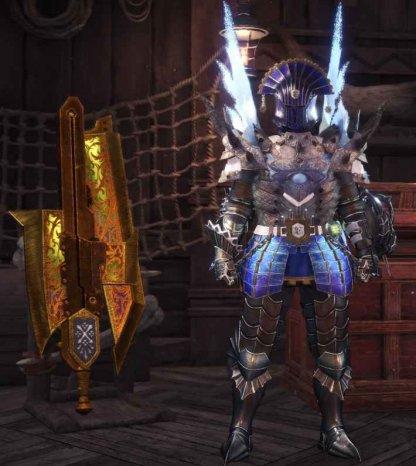 Kjarr Axe Paralysis Attack Build
