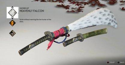 Heavenly Falcon